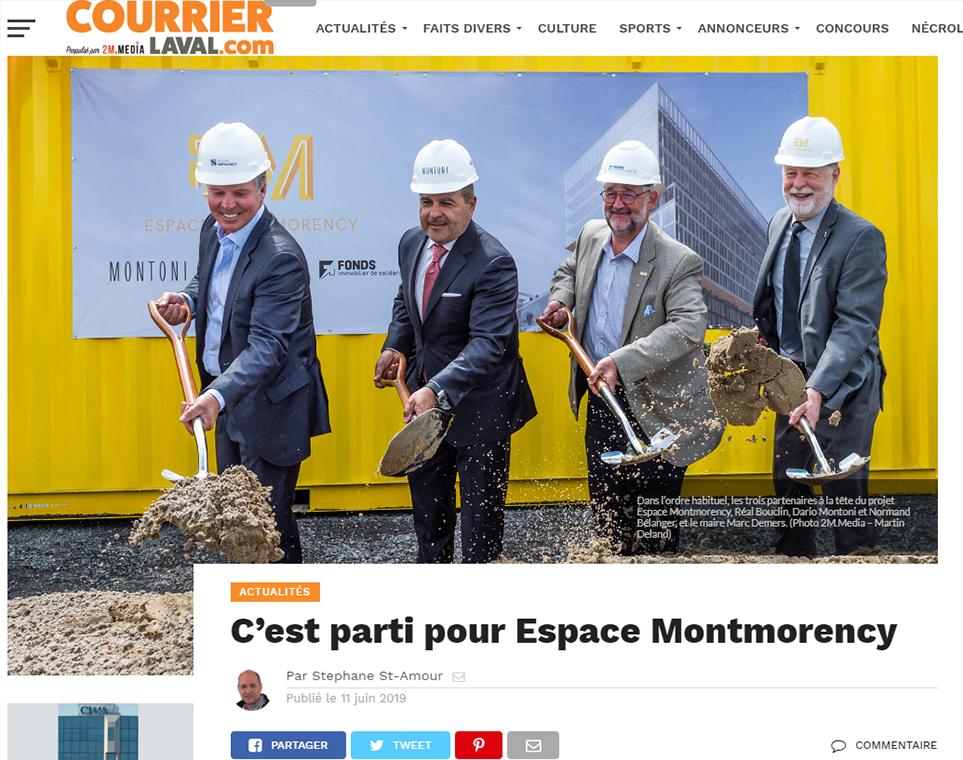 C'est parti pour Espace Montmorency
