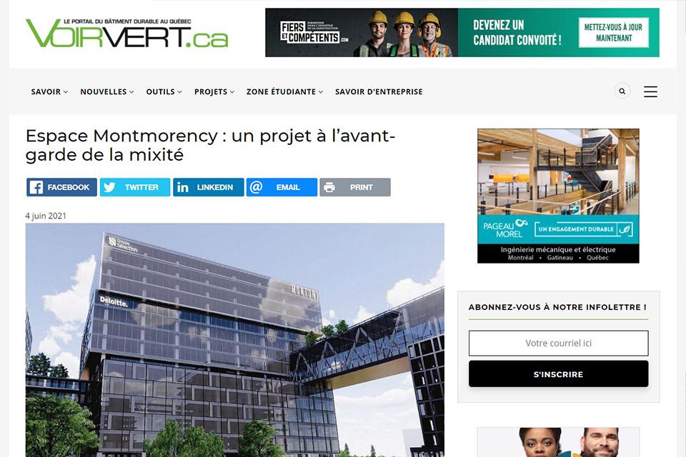 Espace Montmorency : un projet à l'avant-garde de la mixité